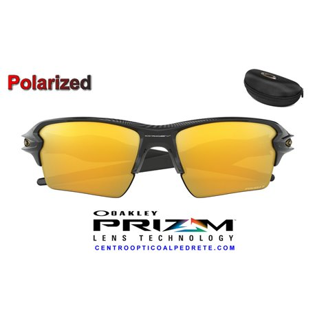Flak 2.0 XL Polished Black / Prizm 24k Polarized (OO9188-95)