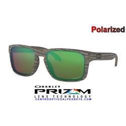 Holbrook Woodgrain / Prizm Shallow Water Polarized (OO9102-J8)