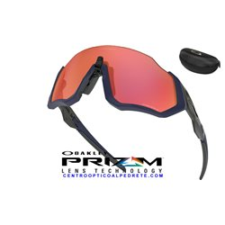 Flight Jacket Matte Navy / Prizm Trail Torch (OO9401-18)