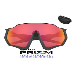 Flight Jacket Matte Navy / Prizm Trail Torch (OO9401-17)