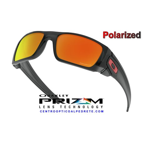 Fuel Cell Black Ink / Prizm Ruby Polarized (OO9096-K0)
