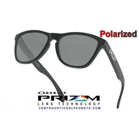 Frogskins Matte Black / Prizm Black Polarized (OO9013-F7)