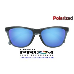 Frogskins Matte Grey Smoke / Prizm Ruby Polarized (OO9013-F6)