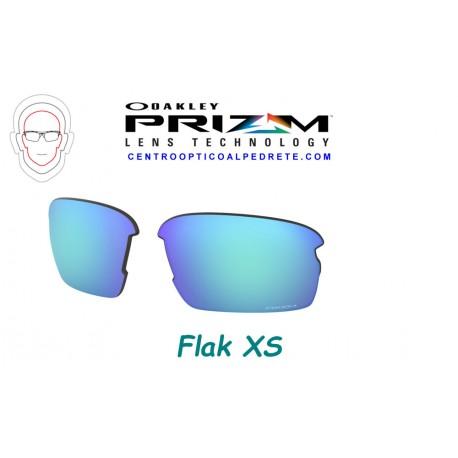 Flak XS Polished Black / Prizm Black (OJ9005-01)