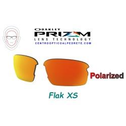 Flak XS Lente Prizm Ruby Polarized (102-992-010)