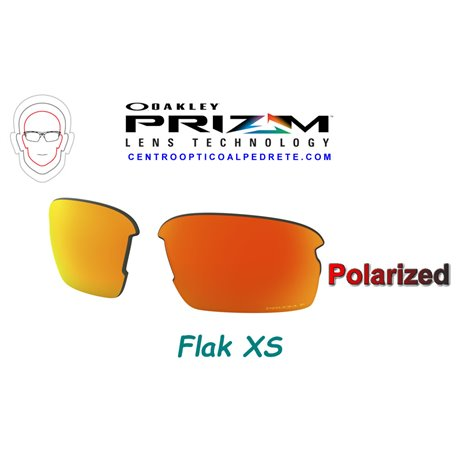 Flak XS Polished Black / Prizm Black (OJ9005-01)