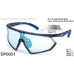 Frosted Dark Blue / Vario Azure Mirror Blue (SP0001-91V)