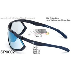 Shiny Blue / Vario Azure Mirror Blue (SP0002-92X)