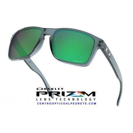 Holbrook XL Crystal Black / Prizm Jade (OO9417-14)