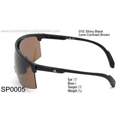 Shiny Black / Contrast Brown (SP0005-01E)