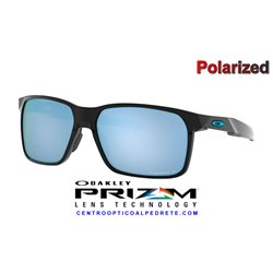 Portal X Polished Black / Prizm Deep Water Polarized (OO9460-04)