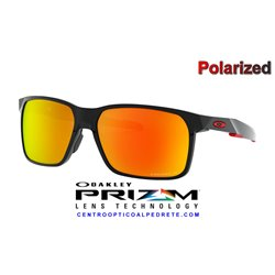 Portal X Polished Black / Prizm Ruby Polarized (OO9460-05)