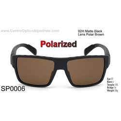 Matte Black / Brown Polarized (SP0006-02H)