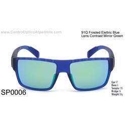 Frosted Elettric Blue / Contrast Mirror Green (SP0006-91Q)