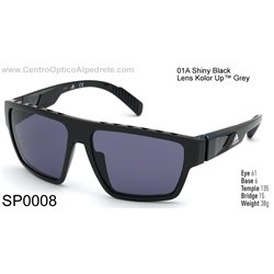 Shiny Black / Kolor Up Grey (SP0008-01A)