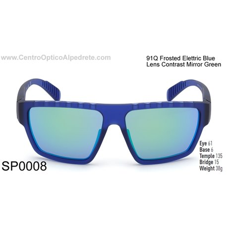 Frosted Elettric Blue / Contrast Mirror Green (SP0008-91Q)