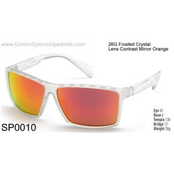Frosted Crystal / Contrast Mirror Orange (SP0010-26G)