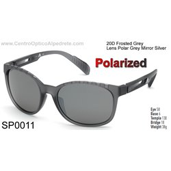 Frosted Grey / Grey Polarized Mirror Silver (SP0011-20D)
