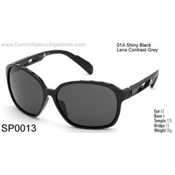 Shiny Black / Contrast Grey (SP0013-01A)