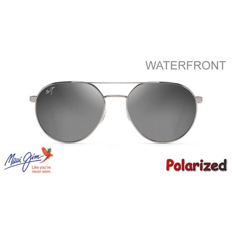 WaterFront Grey Metal / Dual Mirror Silver to Black (DBS830-11)