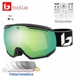 Bolle NorthStar Matte Black Corp / Phantom Green Emerald (21977)
