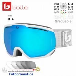 Bolle NorthStar Matte White & Grey / Phantom Vermillon Blue (21978)