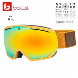 Bolle NorthStar Matte Brown Squares / Sunrise (21898)