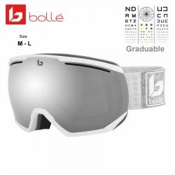 Bolle NorthStar Matte White & Grey / Black Chrome (21901)