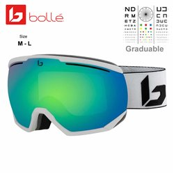 Bolle NorthStar Matte White Corp / Green Emerald (21904)