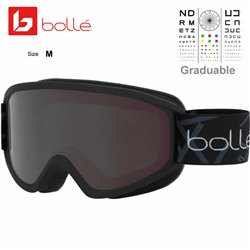 Bolle Schuss Matte Black / Black Chrome (21874)