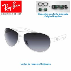 Lentes de repuesto Ray-Ban RB3386 / Lente Grey Gradient Blue (RB3386-107/8G