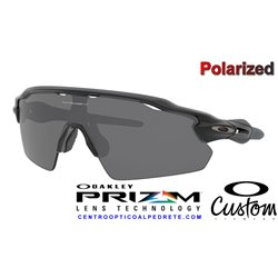 Radar EV Custom Pitch Matte Black / Prizm Black Polarized (OO9211-07D)