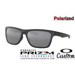 Holston Custom Matte Black / Prizm Black Polarized (OO9334-08P)