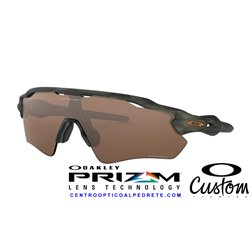 Radar EV Custom Path Olive Camo / Prizm Tungsten (OO9211-6487B)