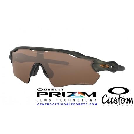 Radar EV Custom Path Olive Camo / Prizm Tungsten (OO9211-6487B)