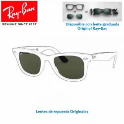 Lentes de repuesto Ray-Ban WayFarer / Lente Green G-15 (RB2140-901)