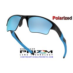 Half Jacket 2.0 XL Matte Black / Prizm Deep Water Polarized (OO9154-67)