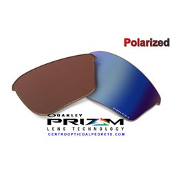 Half Jacket 2.0 XL Lente Prizm Deep Water Polarized (OO9154-67L)