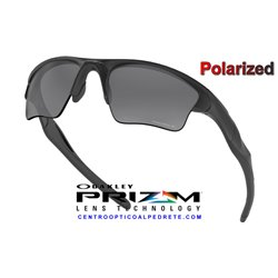 Half Jacket 2.0 XL Matte Black / Prizm Black Polarized (OO9154-65)