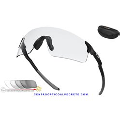 EvZero Blades Matte Black / Clear Black Photochromic Iridium (OO9454-09)