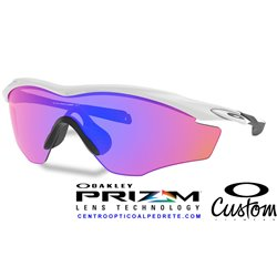 M2 XL Custom Polished White / Prizm Trail (OO9343-05CT)