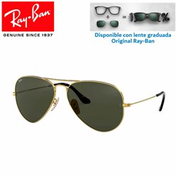 Ray-Ban Aviator Large GunMetal / G-15 Green (RB3025/181)