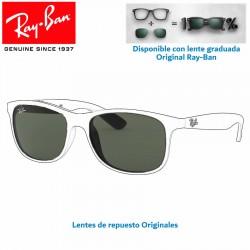 Lentes de repuesto Ray-Ban RB4202 Andy / Lente Green G-15 (RB4202-606971)