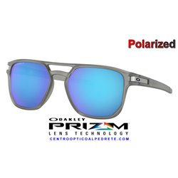 Latch Beta Matte Grey Ink / Prizm Sapphire Polarized (OO9436-06)