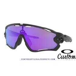 Jawbreaker Custom Matte Black / Violet Iridium (OO9290-7835V)