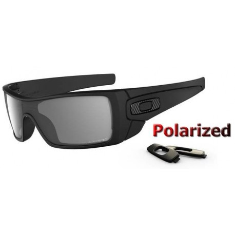 BatWolf Matte Black / Grey Polarized (OO9101-04)
