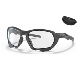 Plazma Matte Carbon / Clear Black Iridium Photochromic (OO9019-05)