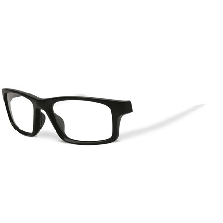 Crosslink Pitch Satin Black - Front Nude (OX8037-01F)