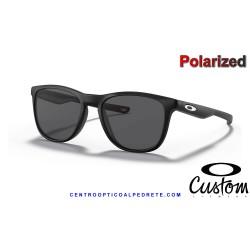 Trillbe X Custom Matte Black / Grey Polarized (OO9340-20C)