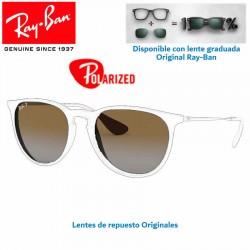 Replacement Lense Ray-Ban Erika RB-4171 Lente Brown Deg. Polar (RB4171/710/TS)